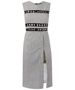 Reinaldo Lourenço | Striped Midi Dress