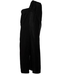 Yohji Yamamoto | Draped One Shoulder Salopette Jumpsuit Size 2
