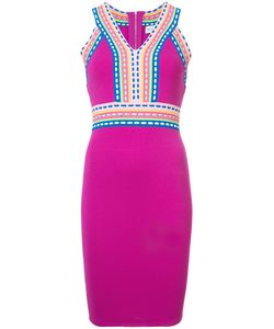 Milly | Приталенное Платье С Контрастной Отделкой