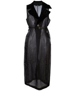 Comme Des Garcons | Прозрачное Длинное Платье Vintage