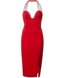 Philipp Plein | Heart Dress Small Spandex/Elastane/Viscose/Polyester