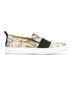 Christian Pellizzari | Jacquard Slip On Shoes 40