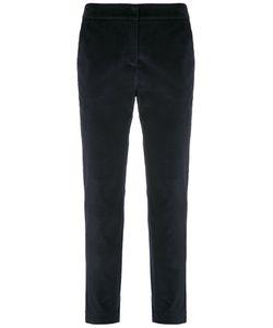 EGREY | Velvet Straight Trousers