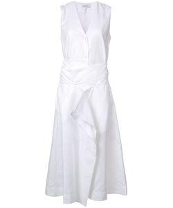 RODEBJER | V-Neck Sleeveless Midi Dress Medium Lyocell/Polyester/Spandex/Elastane