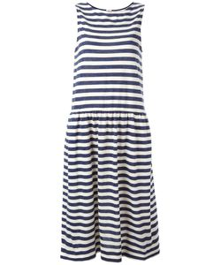 Chinti And Parker | Breton Stripe Dress Large Cotton