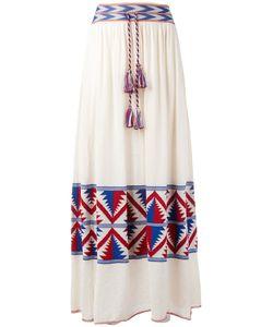 Laneus | Tassel Waist Skirt 42