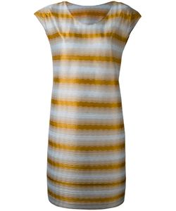 PLEATS PLEASE BY ISSEY MIYAKE | Striped Long T-Shirt