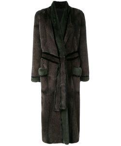 Liska | Норковое Пальто С Поясом