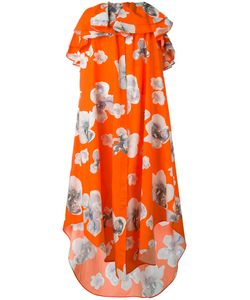 MSGM | Print Strapless Dress