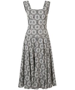 Derek Lam | Print Flared Dress