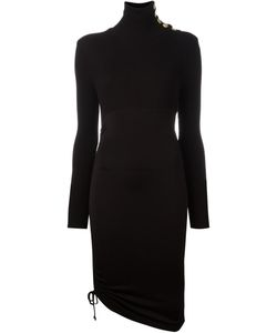 Pierre Balmain | Asymmetric Fitted Dress 36 Viscose/Spandex/Elastane