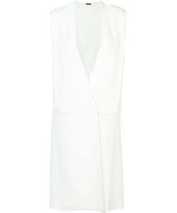 Adam Lippes | Sleeveless Wrap Dress 8 Viscose