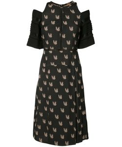Yigal Azrouel | Parakeet Jacquard Dress