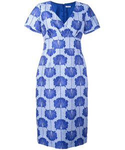 P.A.R.O.S.H. | Jacquard Shift Dress Xs Silk/Polyamide/Polyester/Viscose