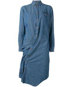 JUNYA WATANABE COMME DES GARCONS | Junya Watanabe Comme Des Garçons Off Centre Fastening Shirt Dress