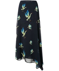 Grey Jason Wu | Birds Print Skirt