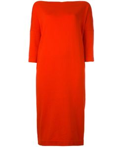 DANIELA GREGIS | Cropped Sleeves Dress Cotton