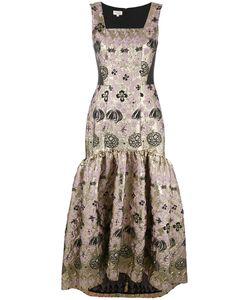Temperley London | Tower Long Jacquard Dress
