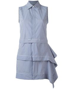 Dsquared2 | Asymmetric Skirt Shirt Dress 40 Cotton/Polyamide/Spandex/Elastane