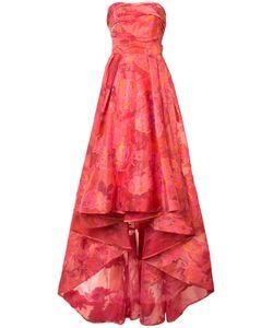 Marchesa Notte | Жаккардовое Платье С Цветочным Узором