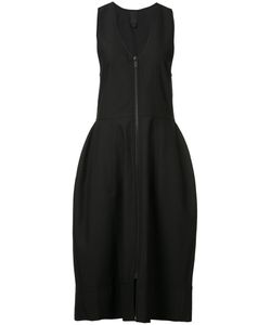 Vera Wang   V-Neck Bell Dress 2 Nylon/Wool