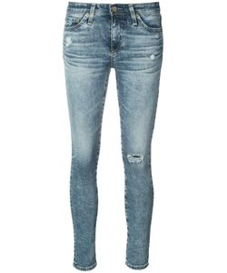 AG JEANS | Distressed Skinny Jeans
