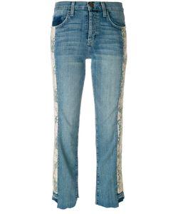 Current/Elliott | Cropped Panel Jeans Women