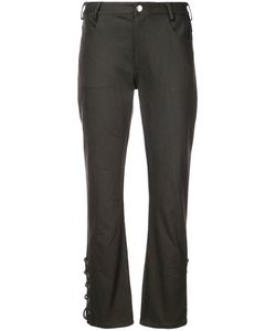 NOMIA | Laced Hem Trousers Women 4