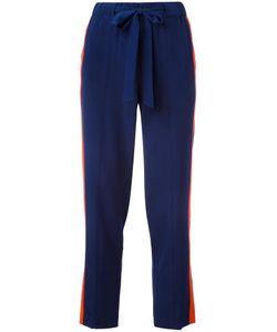 Tory Burch | Side Stripe Trousers 4 Silk