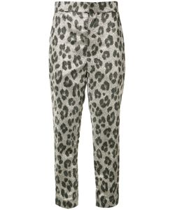 Haider Ackermann | Leopard Print Cropped Trousers Size