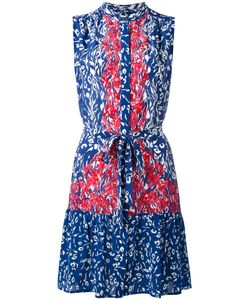 Saloni | Contrast Printed Dress