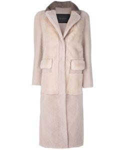 Blancha   Fur Long Coat