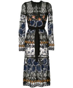 Yigal Azrouel | Botanic Embroidered Lace Dress Size