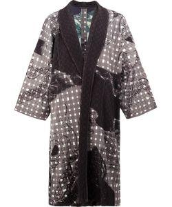 HOMME PLISSE ISSEY MIYAKE | Homme Plissé Issey Miyake Printed Coat 1 Polyester