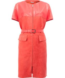 Maison Ullens | Belted Leather Dress Size