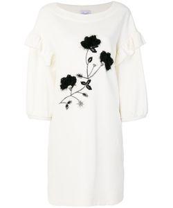 SI-JAY | Embellished Ruffle Trim Dress Women