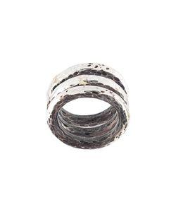 HENSON | Hammered Ring Set Unisex