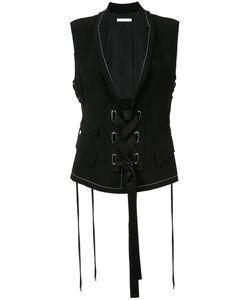 Victor Alfaro | Lace-Up Waistcoat Size 8