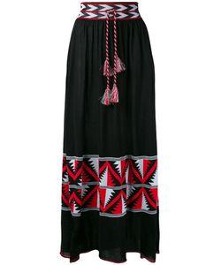 Laneus | Aztec Panel Maxi Skirt