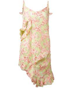 Marques Almeida | Платье С Рюшами И Цветочным Узором