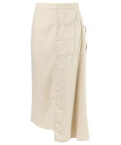 Uma | Raquel Davidowicz | Midi Skirt 36 Linen/Flax/Spandex/Elastane/Viscose