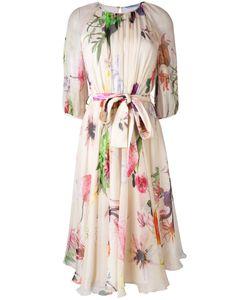 Blumarine   Print Flared Dress