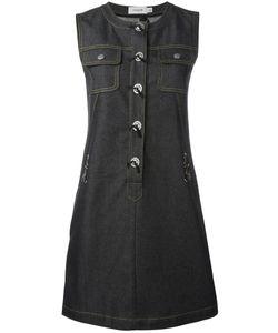 COACH | Front Placket Denim Dress 4