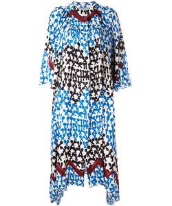 Tsumori Chisato | Patterned Shift Dress Medium Rayon