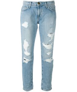 Current/Elliott | Cropped Distressed Jeans Size 26
