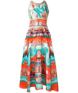 Temperley London   Платье С Баской Nymph
