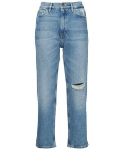 Mih Jeans | Джинсы С Потертой Отделкой