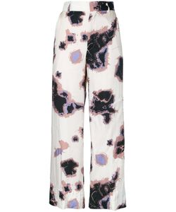 Theatre Products   Printed Palazzo Pants Cupro