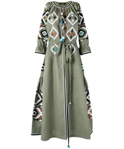 Vita Kin   Fatimas Eye Embroidered Dress