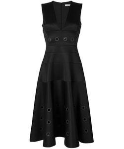 Versace Collection   Расклешенное Платье С Люверсами